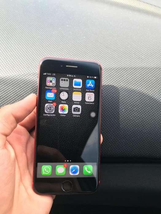 iPhone 7 32Gb Red Como Nuevo Accesorios