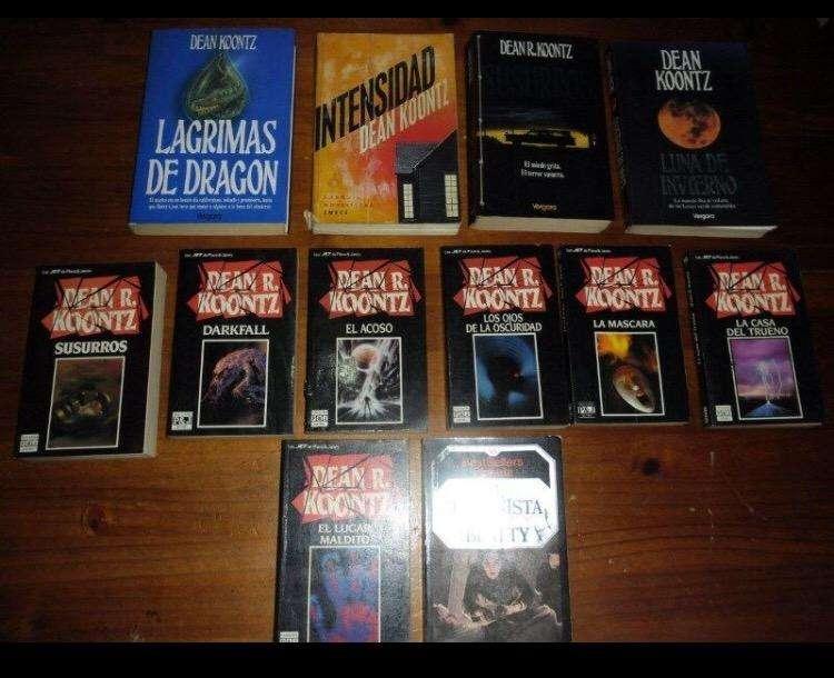 Libros Dean Koontz Coleccion