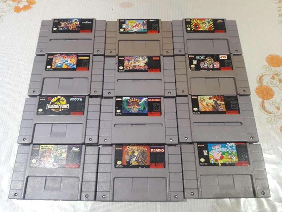 Juegos de Super Nintendo Originales