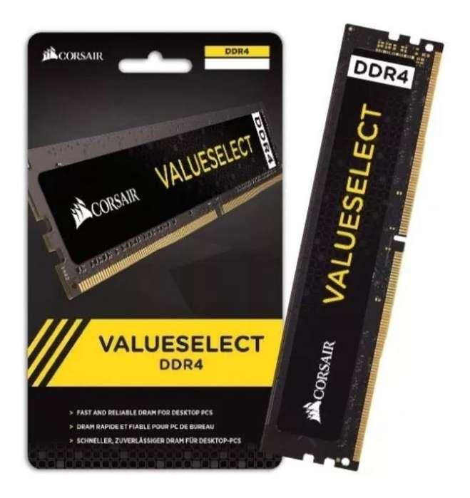 <strong>memoria</strong>s Ram Corsair 4GB DDR4 2400MHz - 2666MHz