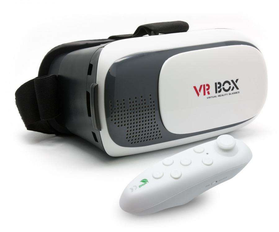Gafas Vr Box Realidad Virtual Aumentada Control Remoto