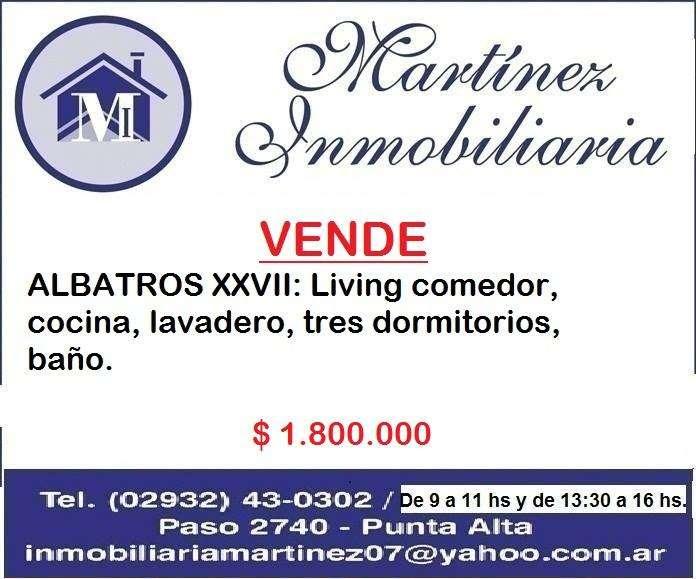 Vendo Casa en Albatros XXVII