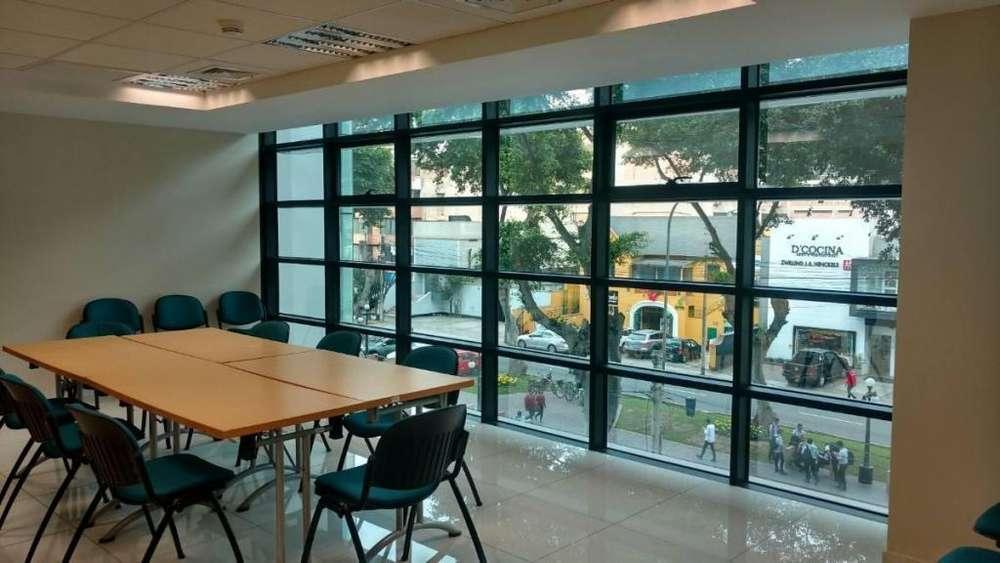 Miraflores Alquilo Oficinas en Centro Empresarial Amof Ave Pardo