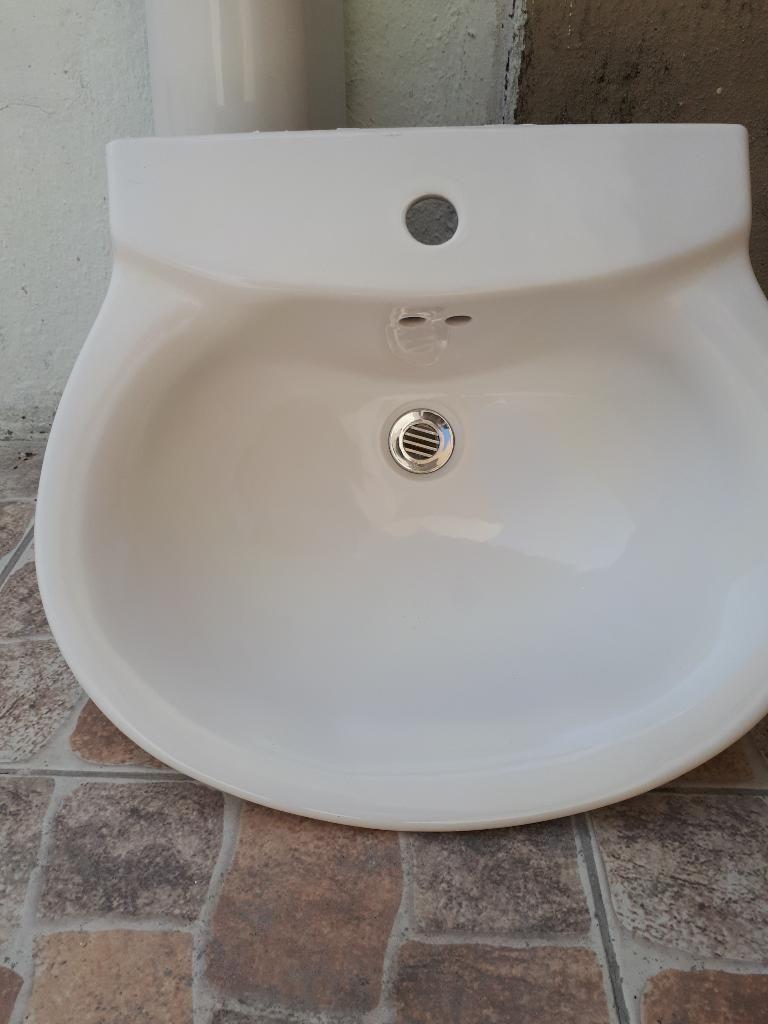Lavabo Manos.Lavabo De Manos Nuevo Con Pedestal Guayaquil
