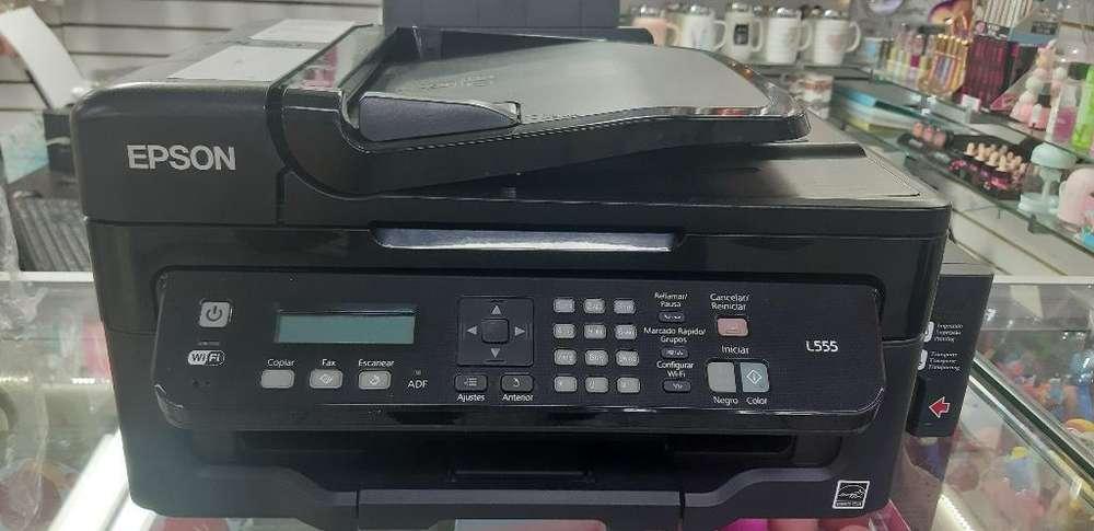 Impresora Multifuncional Epson L555 Wifi