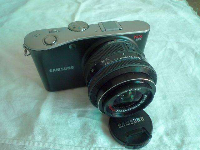 Samsung Nx100 Slr Mirrorless 14.6 Mp Y Grabacion Hd