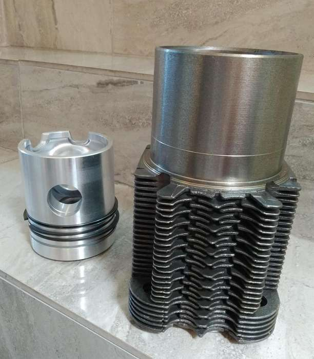 CAMISA PISTON Y RINES DEUTZ 912-913