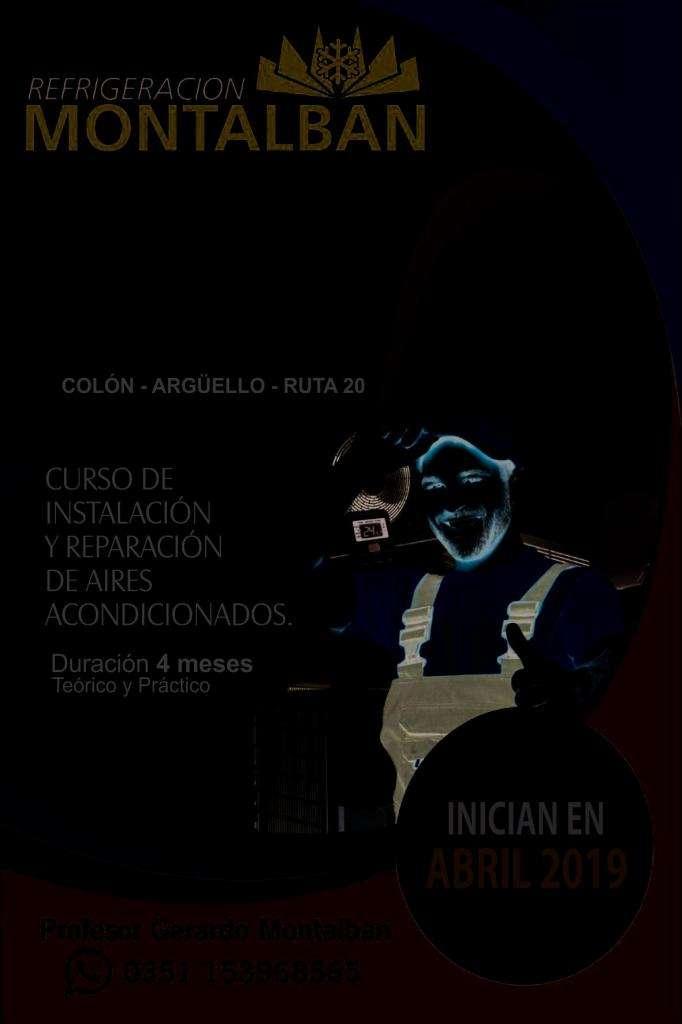 CURSO DE INSTALACION DE AIRES ACONDICIONADOS  CPC COLON  CPC ARGUELLO  CPC RUTA 20