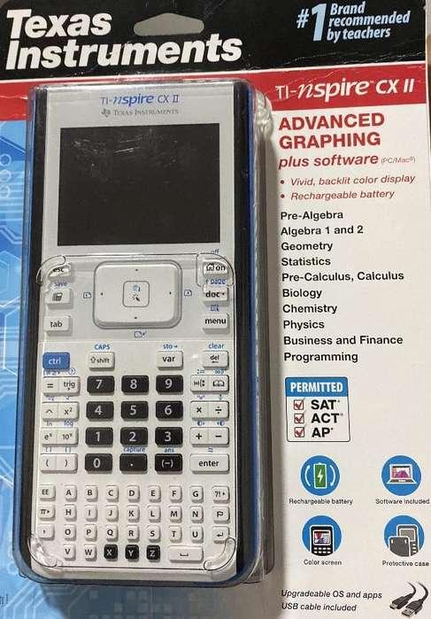 Calculadora Texas instruments TI-nspire cx II