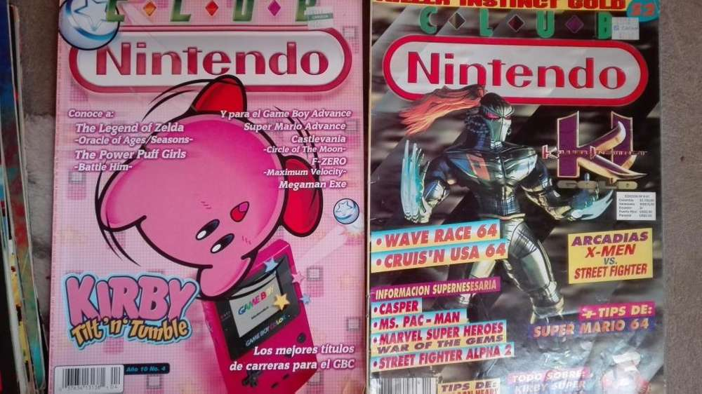 revistas club nintendo
