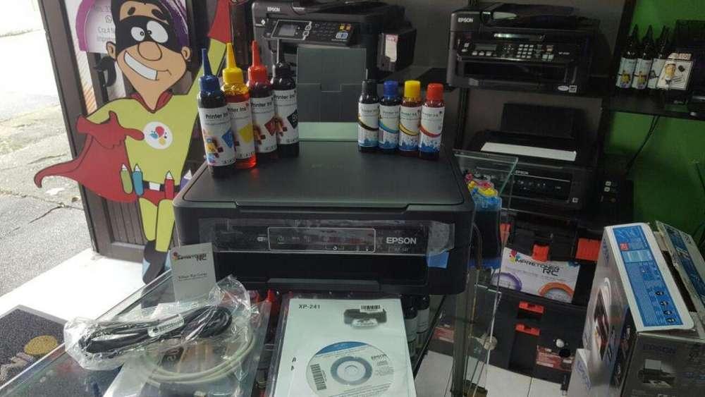 Impresora Multifuncional Xp241 Con Sistema Continuo lujo
