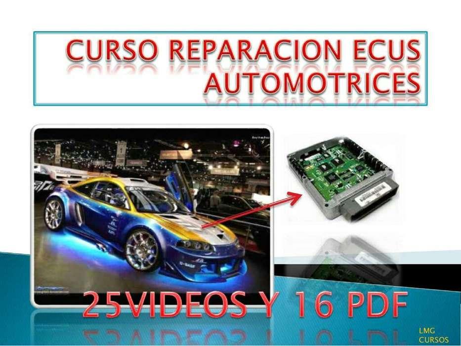 Curso Reparación Ecus Automotriz 3x1