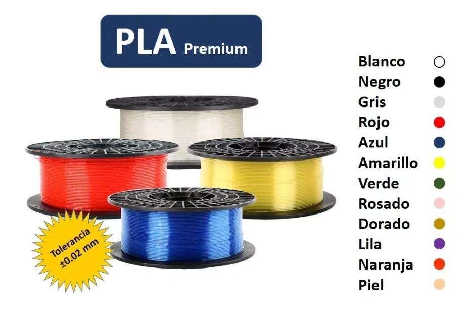 Filamento PLA y ABS para impresora 3D