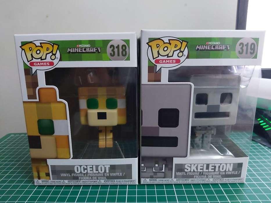Minecraft Esqueleto Funko Pop