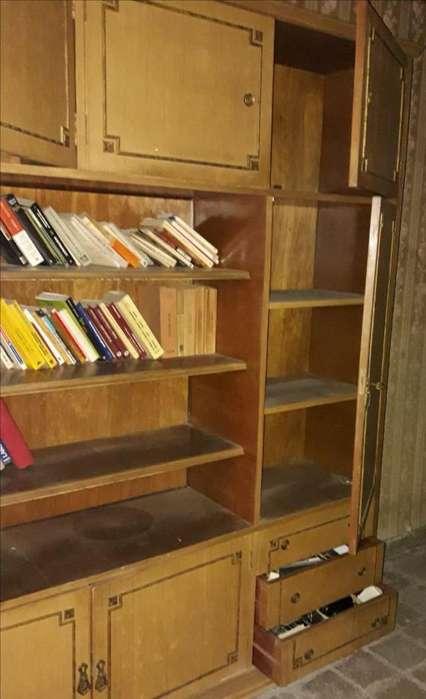 Biblioteca Antigu Estilo Frances Luis Xv