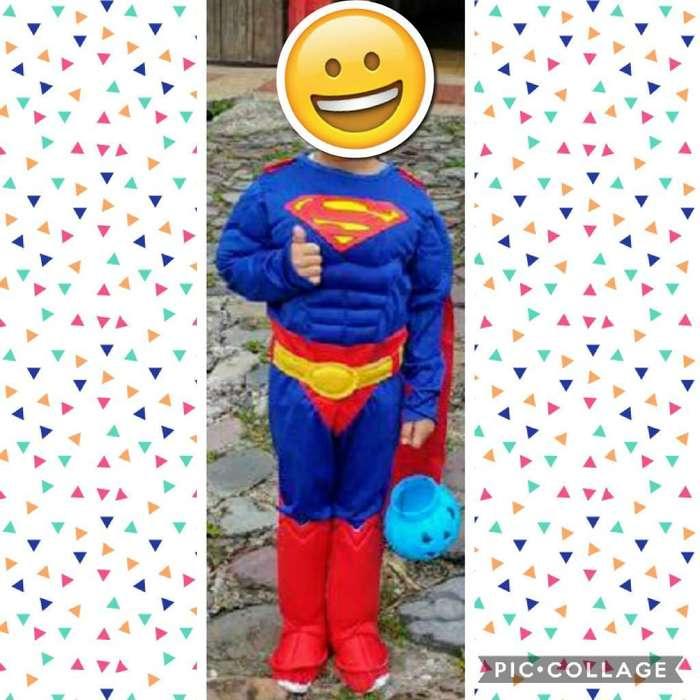 Disfraz Superman Talla 6
