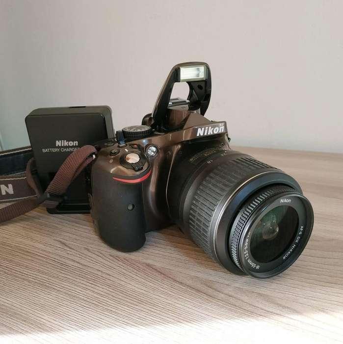 Camara Reflex Nikon D5200 24.1 Mpx Full Hd Srl 18 55mm