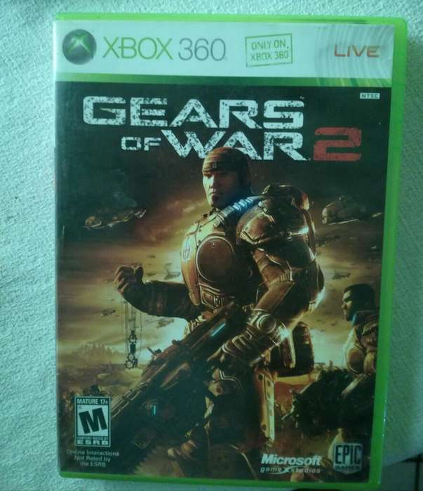 Gear Of War 2 (xbox One Y Xbox 360)