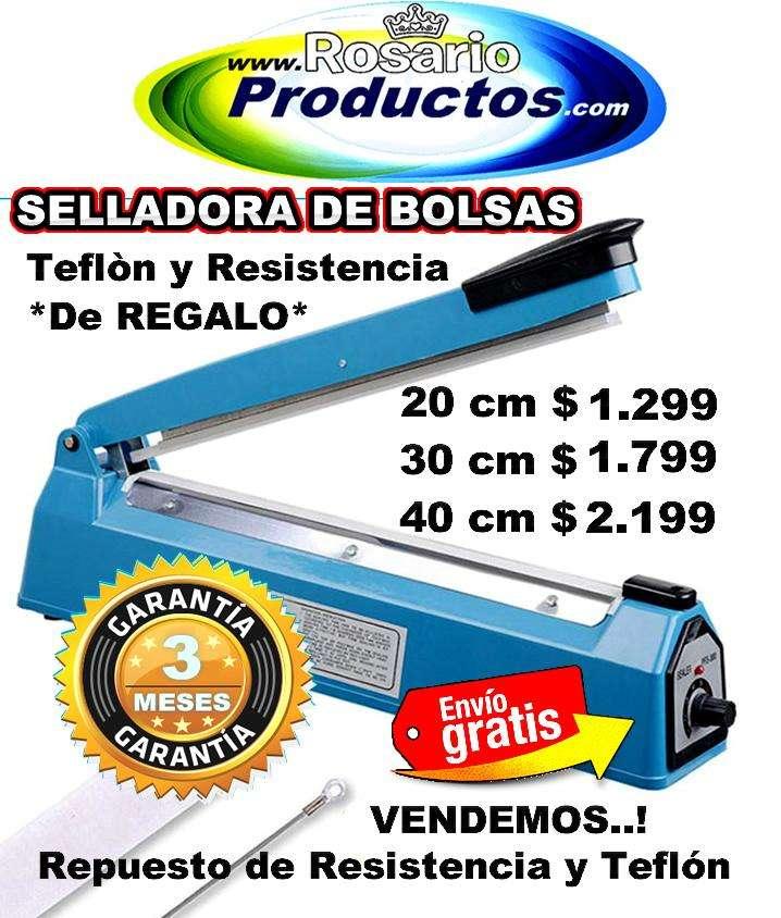 SELLADORA DE BOLSAS 30 cm TAMBIEN 20 cm y 40 cm