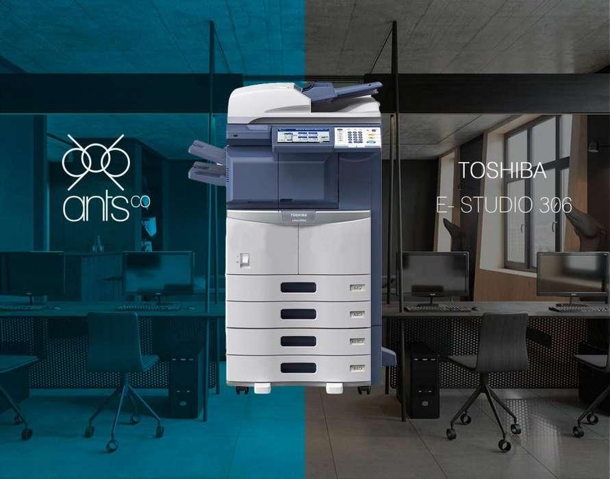 Toshiba 306 - Multifuncional Laser Blanco y Negro - Impresión, Escáner, Copiado - Usada - Ants Co
