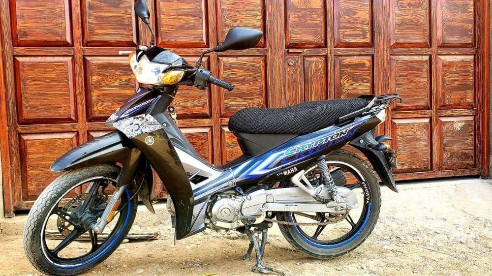 Vendo Mi Moto Cripton Yamaha