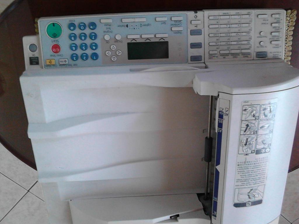 Fotocopiadora ricoh 201 scaner panel 150.000 tel 3148369769
