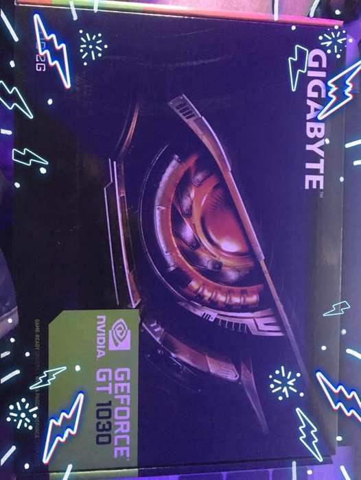 Súper oferta..!!! tarjeta de video GEFORCE GT1030 Super Precio S/320.00 soles Completamente Nueva...!!!!