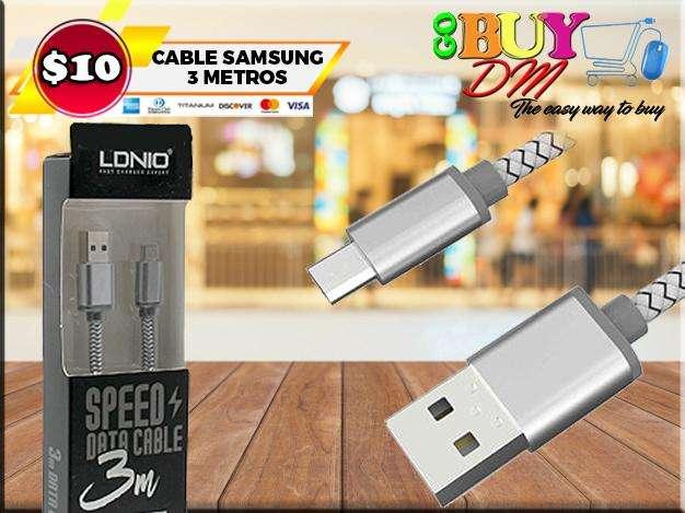 Cable Usb Para Samsung De 3 Metros LDNIO LS31