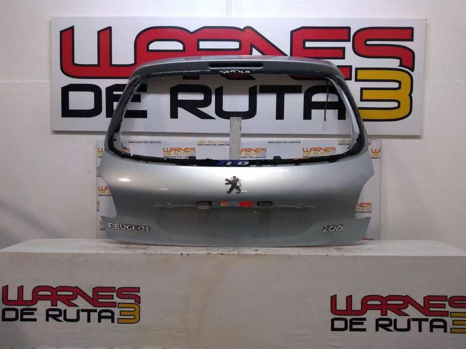 Porton Trasero Peugeot 206 02376850