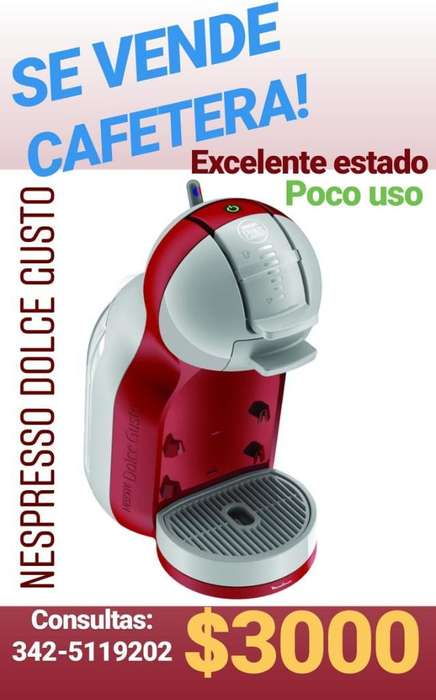 <strong>cafetera</strong> Nespresso Dolce Gusto