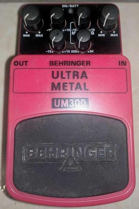 PEDAL BEHRINGER ULTRA METAL UM300