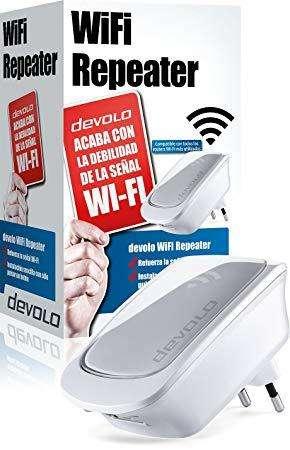 Amplificador de Wifi Devolo fácil instalación