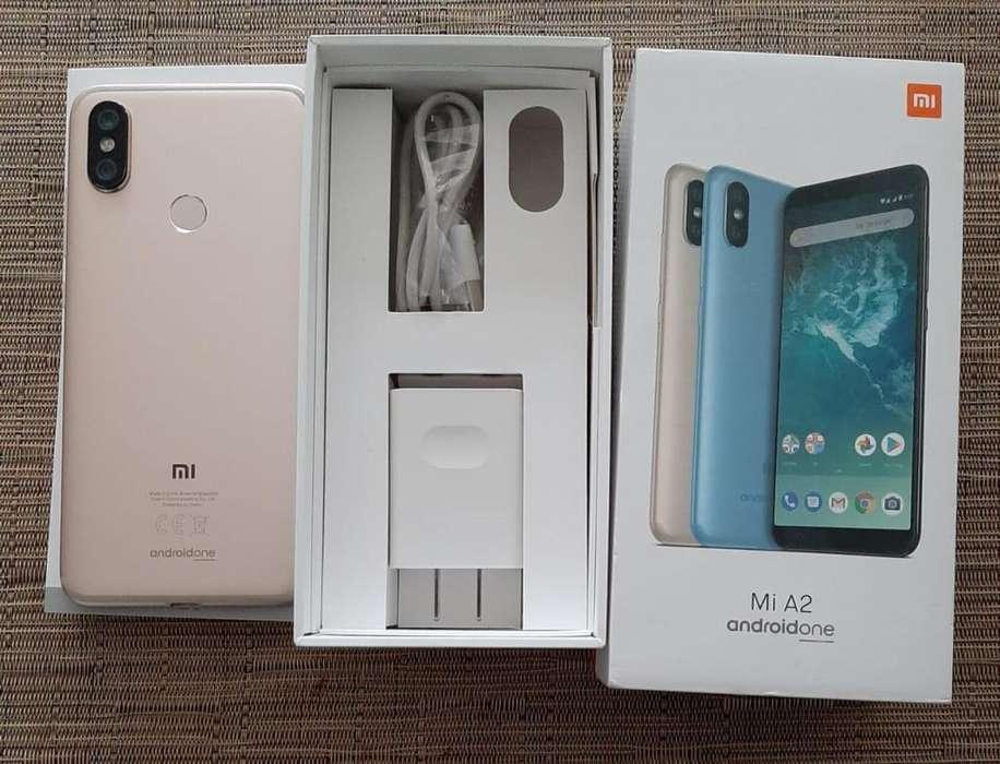 Celular Xiaomi MI A2 casi nuevo