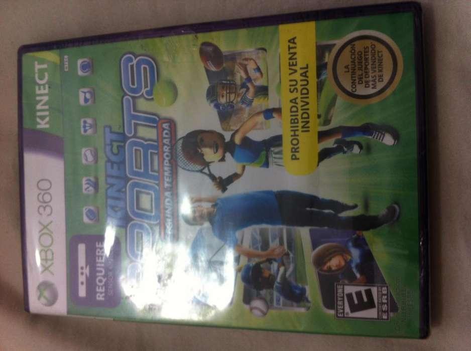 Se vende kinect sports segunda temporada para xbox 360 original