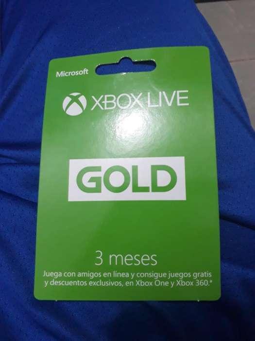 Tarjeta Xbox Live
