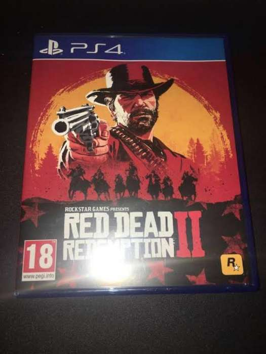 Red Dead Redention 2 Ps4