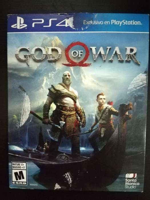 God Of War Ps4 Play 4 Cambio O Vendo