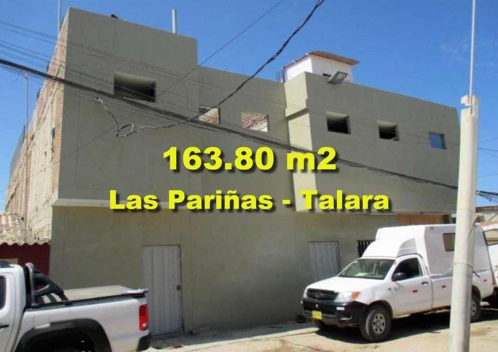 Vendo Inmueble Semi Industrial de 163.80 m2 en Las Pariñas Talara
