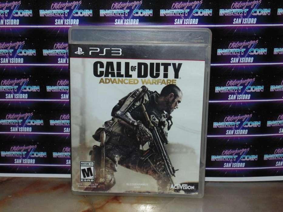 Call of Duty Advanced Warfare PS3 Juego Play Station 3