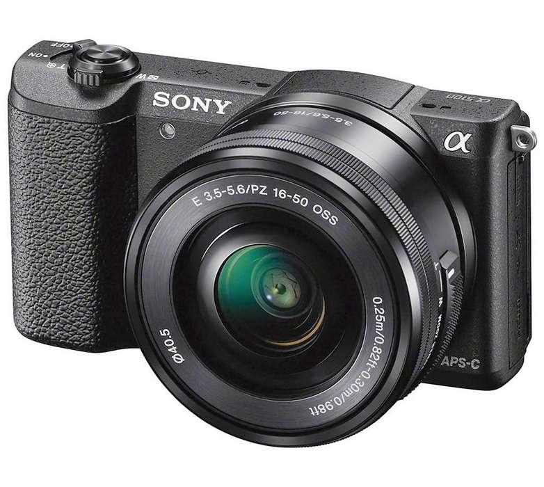 Cámara Sony Alpha A5100 Montura E Sensor Apsc NUEVO en TIENDA con GARANTIA