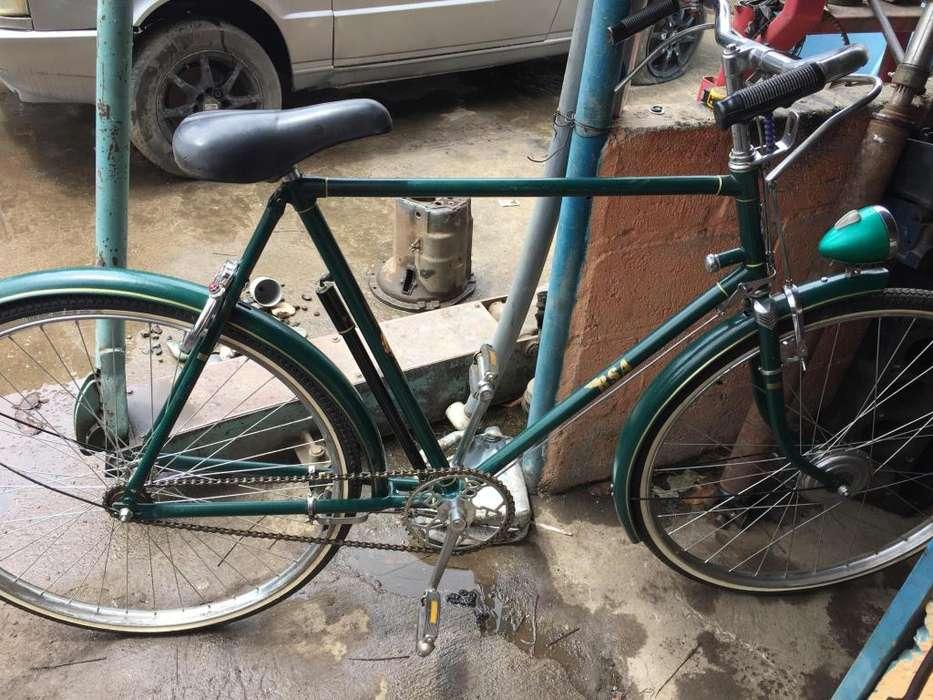 Bicicleta BSA inglesa original bien conservada