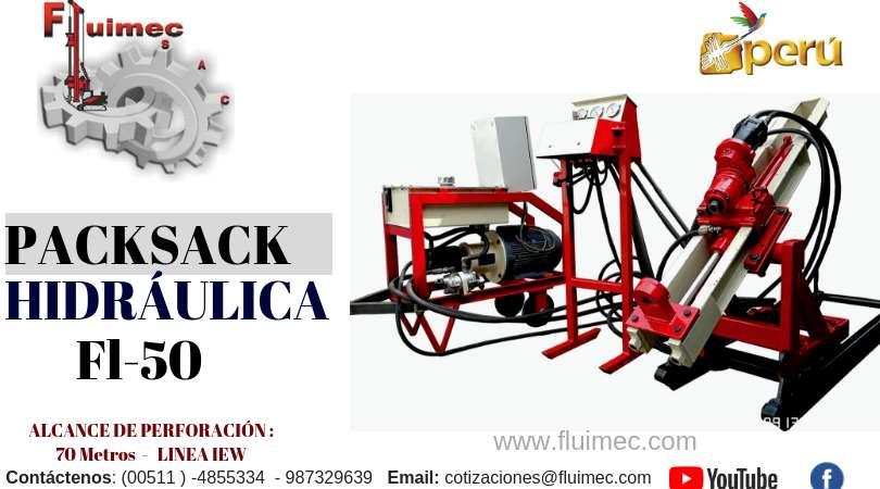 PACKSACK HIDRÁULICA MODELO FL-50