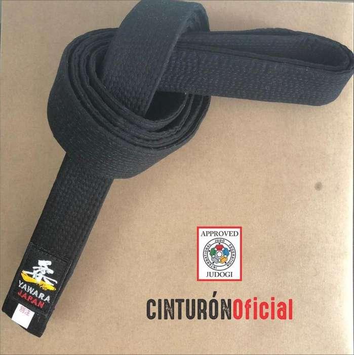 Cinturon Negro de Judo Avalado