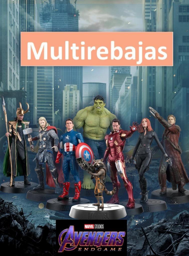 Excelentes Personajes de Coleccion de la Pelicula  Avengers