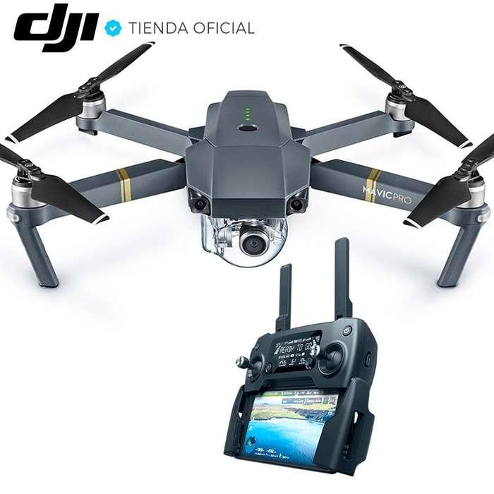 Drone Dji Mavic Pro Con Camara 4k