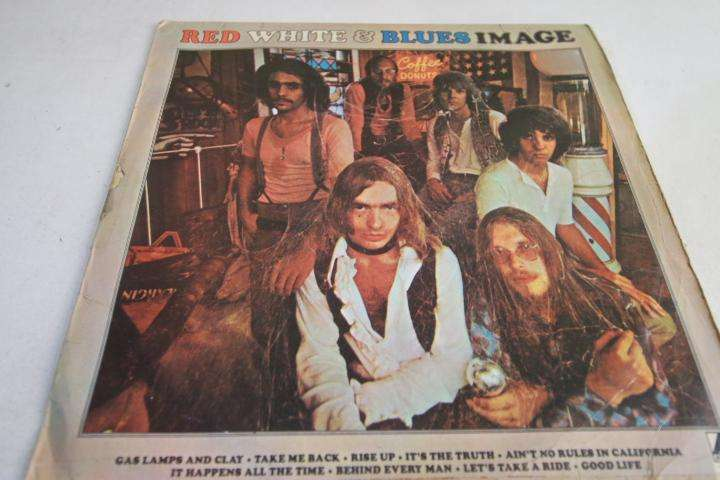 the blues image red white and blues LP vinilo edición perú rock hago envíos