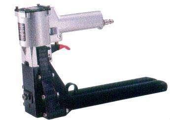 cerradora de caja de carton neumatica o manual para broche 5/8 o 3/4