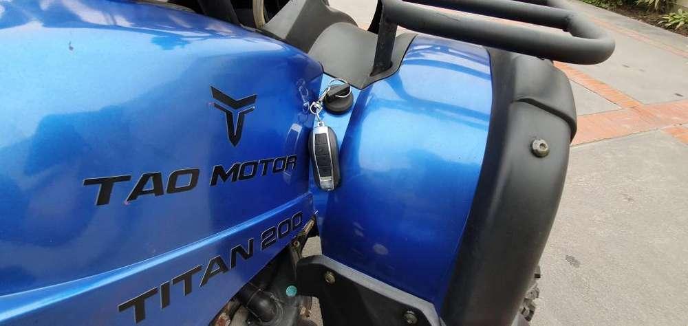 Cuatrimoto Tao Motor Como Nueva- Remato