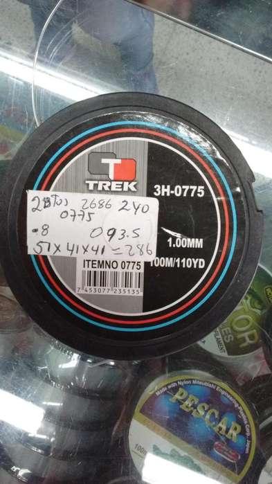 Nylon de pesca Trek 3H0775 1.00mm 100m