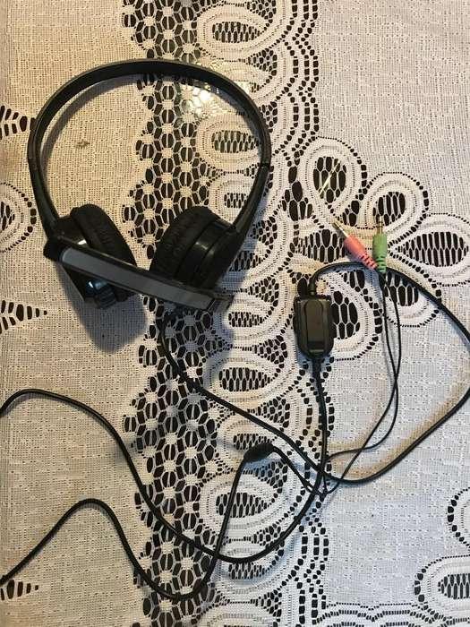 Audifonos para Pc,Laptop con Microfono